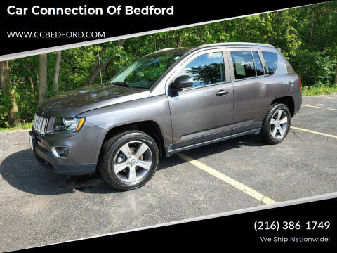 2017 Jeep Compass for sale at Car Connection of Bedford in Bedford OH