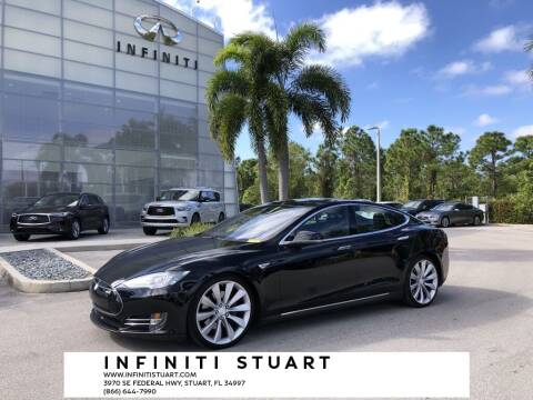 2015 Tesla Model S for sale at Infiniti Stuart in Stuart FL