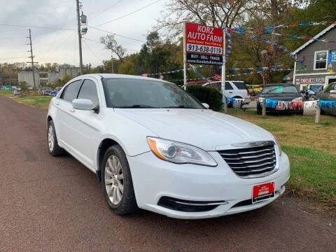 2012 Chrysler 200 for sale at Korz Auto Farm in Kansas City KS