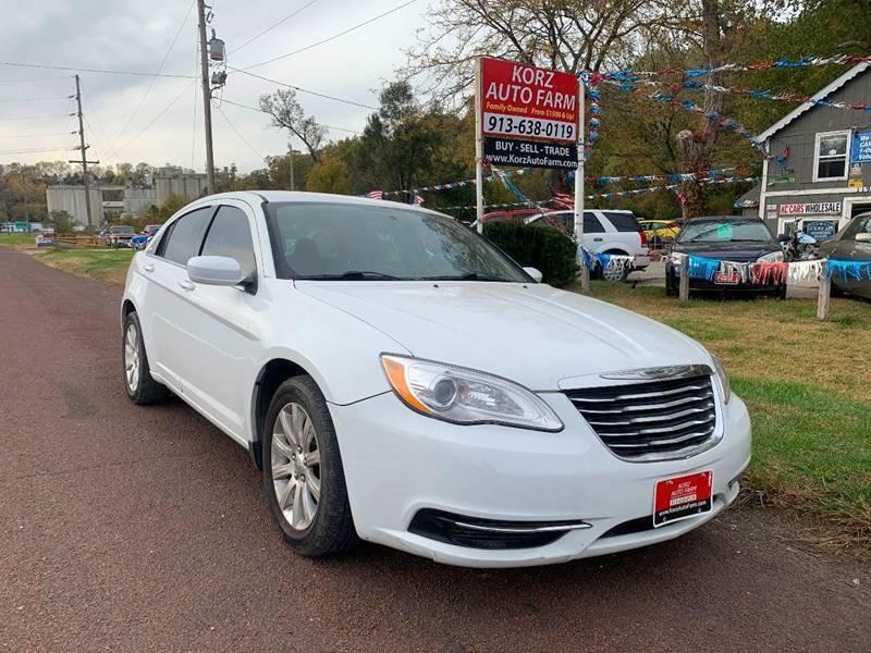 2012 Chrysler 200 for sale at Korz Auto Farm in Kansas City KS