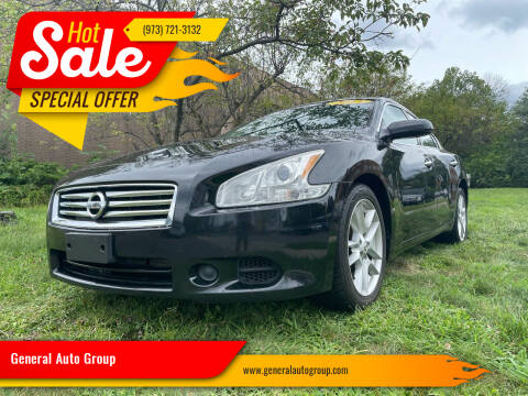 2013 Nissan Maxima for sale at General Auto Group in Irvington NJ