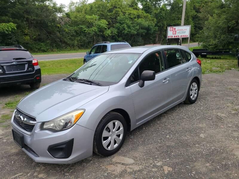 2012 Subaru Impreza for sale at B & B GARAGE LLC in Catskill NY