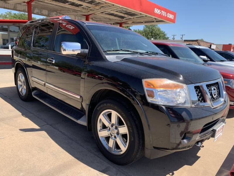 2011 Nissan Armada for sale at KD Motors in Lubbock TX