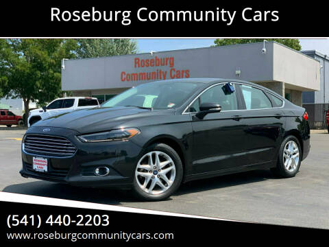 2013 Ford Fusion for sale at Roseburg Community Cars in Roseburg OR