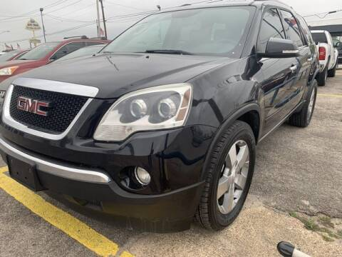 2012 GMC Acadia for sale at The Kar Store in Arlington TX