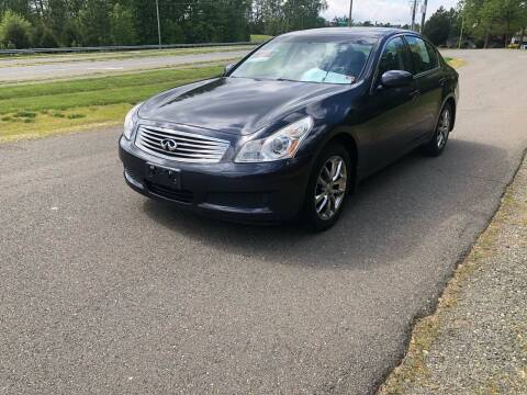 2008 Infiniti G35X for sale at Economy Auto Sales in Dumfries VA