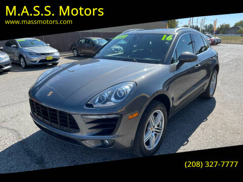 2016 Porsche Macan for sale at M.A.S.S. Motors in Boise ID