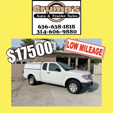 2016 Nissan Frontier for sale at CRUMP'S AUTO & TRAILER SALES in Crystal City MO
