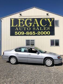2002 Chevrolet Impala for sale at Legacy Auto Sales in Toppenish WA