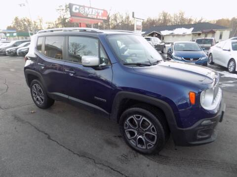 2016 Jeep Renegade for sale at Comet Auto Sales in Manchester NH