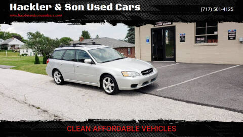 2007 Subaru Legacy for sale at Hackler & Son Used Cars in Red Lion PA