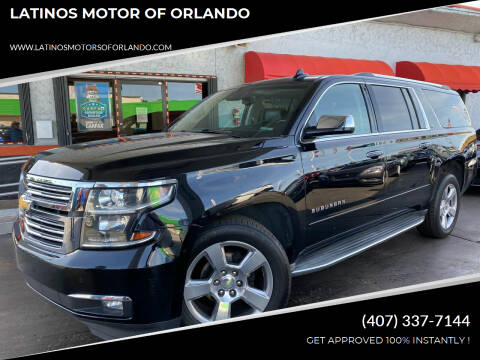 2015 Chevrolet Suburban for sale at LATINOS MOTOR OF ORLANDO in Orlando FL
