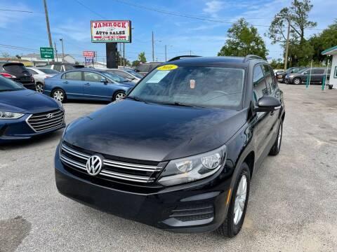 2016 Volkswagen Tiguan for sale at Jamrock Auto Sales of Panama City in Panama City FL