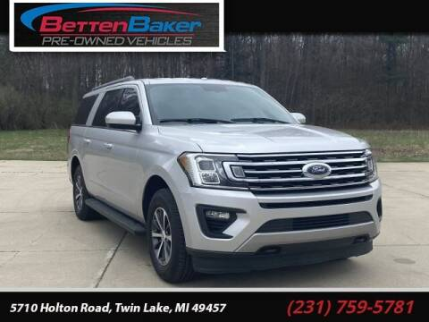 2018 Ford Expedition MAX for sale at Betten Baker Preowned Center in Twin Lake MI