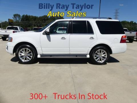 2017 Ford Expedition for sale at Billy Ray Taylor Auto Sales in Cullman AL