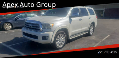 2012 Toyota Sequoia for sale at Apex Auto Group in Cabot AR