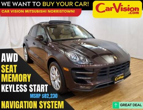 2015 Porsche Macan for sale at Car Vision Mitsubishi Norristown in Norristown PA