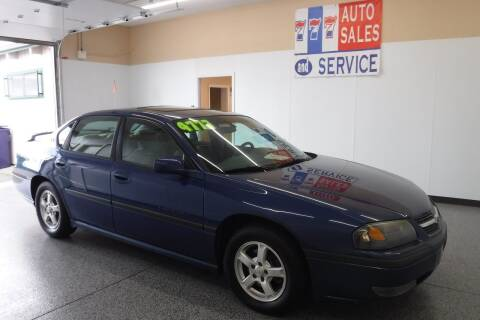 2003 Chevrolet Impala for sale at 777 Auto Sales and Service in Tacoma WA