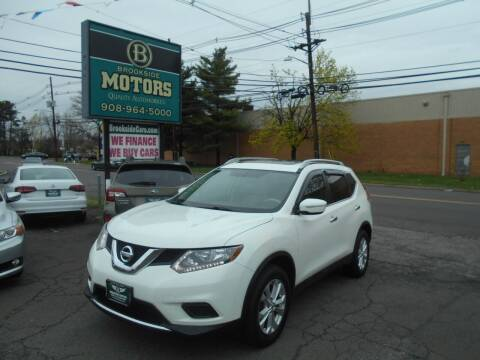 2015 Nissan Rogue for sale at Brookside Motors in Union NJ