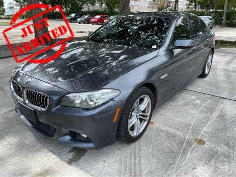 2016 BMW 5 Series for sale at Florida Fine Cars - West Palm Beach in West Palm Beach FL