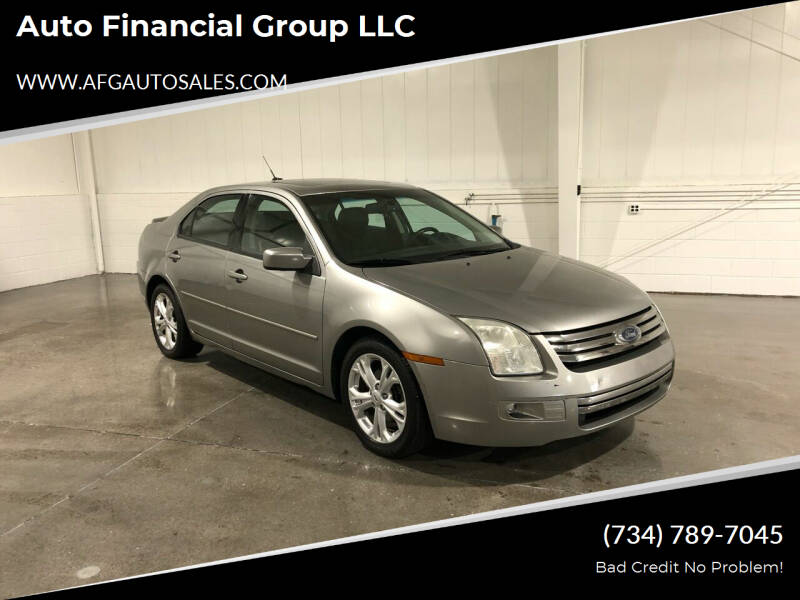 2008 Ford Fusion for sale at Auto Financial Group LLC in Flat Rock MI