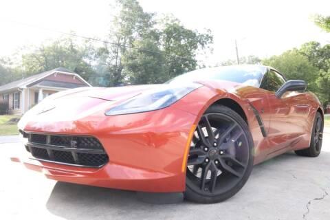 2016 Chevrolet Corvette for sale at E-Z Auto Finance in Marietta GA