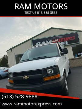 2015 Chevrolet Express Cargo for sale at RAM MOTORS in Cincinnati OH