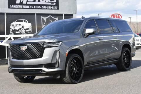 2021 Cadillac Escalade ESV for sale at Landers Motors in Gresham OR