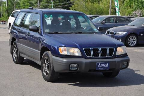 2002 Subaru Forester for sale at Amati Auto Group in Hooksett NH