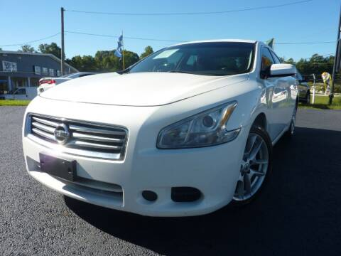 2012 Nissan Maxima for sale at Roswell Auto Imports in Austell GA