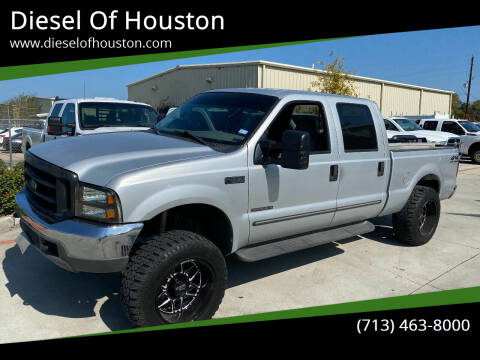 2000 Ford F-250 Super Duty for sale at Diesel Of Houston in Houston TX