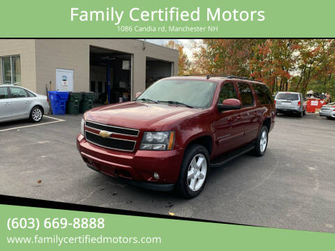 2008 Chevrolet Suburban for sale at Family Certified Motors in Manchester NH