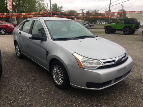 2008 Ford Focus for sale at Antique Motors in Plymouth IN