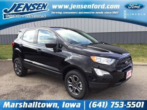 2020 Ford EcoSport for sale at JENSEN FORD LINCOLN MERCURY in Marshalltown IA