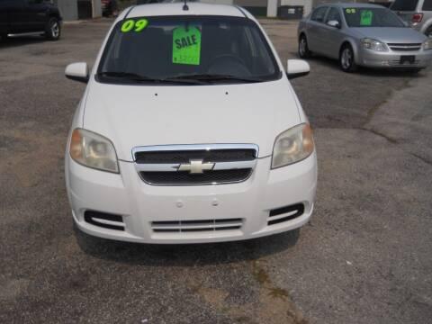 2009 Chevrolet Aveo for sale at Shaw Motor Sales in Kalkaska MI