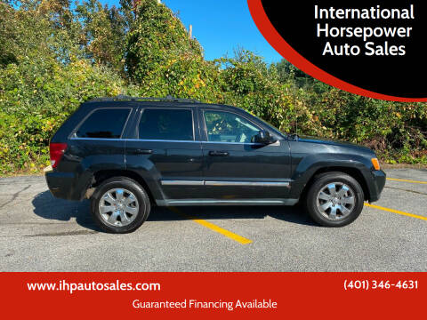 2009 Jeep Grand Cherokee for sale at International Horsepower Auto Sales in Warwick RI