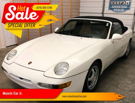 1993 Porsche 968 for sale at Muscle Car Jr. in Alpharetta GA