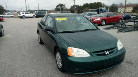 2001 Honda Civic for sale at Kelly & Kelly Supermarket of Cars in Fayetteville NC
