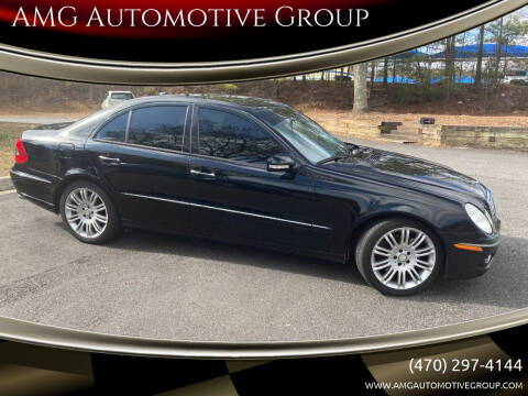 2008 Mercedes-Benz E-Class for sale at AMG Automotive Group in Cumming GA