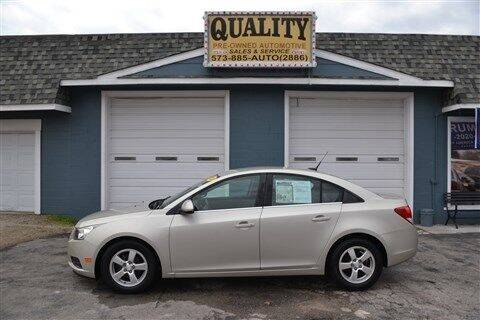 2013 Chevrolet Cruze for sale at Quality Pre-Owned Automotive in Cuba MO
