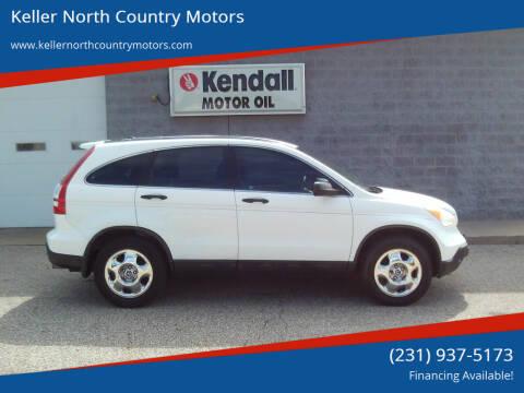 2009 Honda CR-V for sale at Keller North Country Motors in Howard City MI