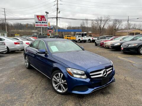 2017 Mercedes-Benz C-Class for sale at KB Auto Mall LLC in Akron OH