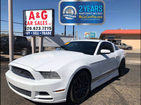 2014 Ford Mustang for sale at A&G Car Sales  LLC in Tucson AZ