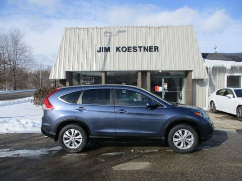 2013 Honda CR-V for sale at JIM KOESTNER INC in Plainwell MI