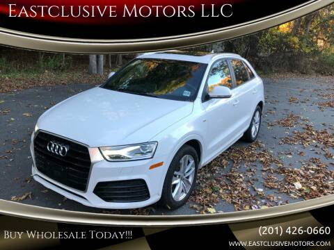 2018 Audi Q3 for sale at Eastclusive Motors LLC in Hasbrouck Heights NJ