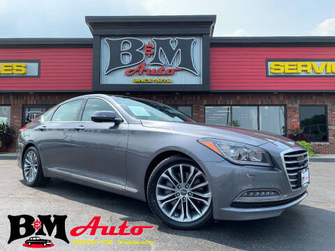 2017 Genesis G80 for sale at B & M Auto Sales Inc. in Oak Forest IL