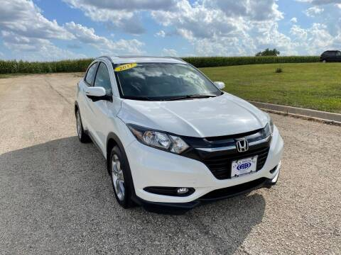 2017 Honda HR-V for sale at Alan Browne Chevy in Genoa IL