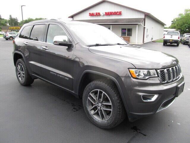 2018 Jeep Grand Cherokee for sale at Thompson Motors LLC in Attica NY