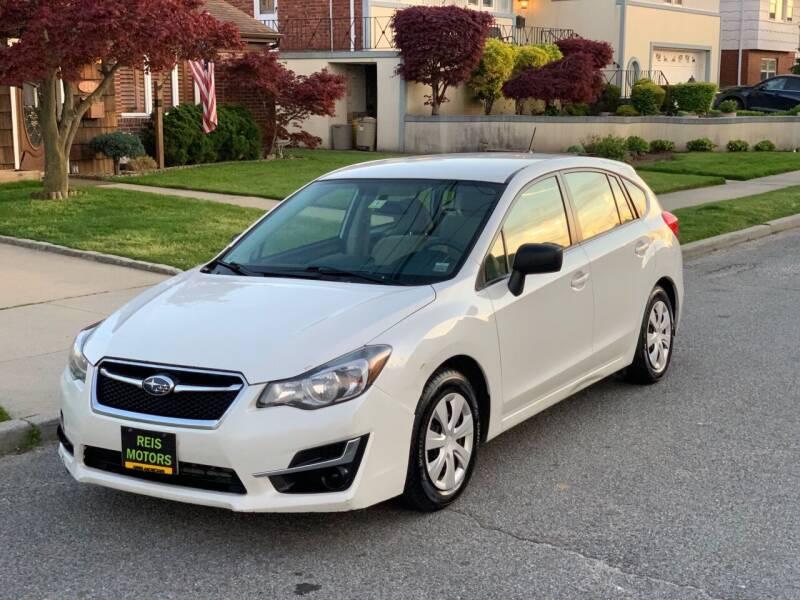 2015 Subaru Impreza for sale at Reis Motors LLC in Lawrence NY