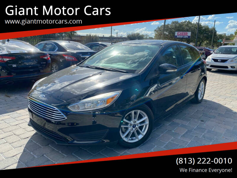 2016 Ford Focus for sale at Giant Motor Cars in Tampa FL
